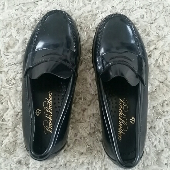 Boys Brooks Brothers Penny Loafers Size